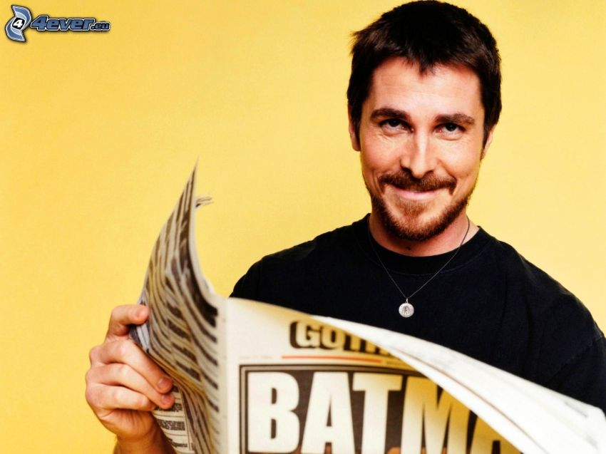 Christian Bale, tidning