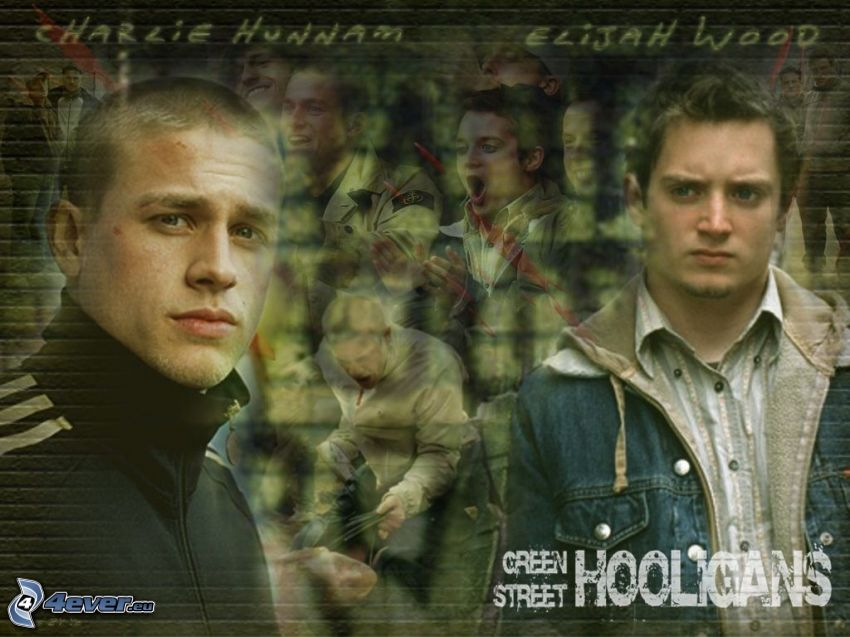 Green Street Hooligans, Brad Pitt, Elijah Wood