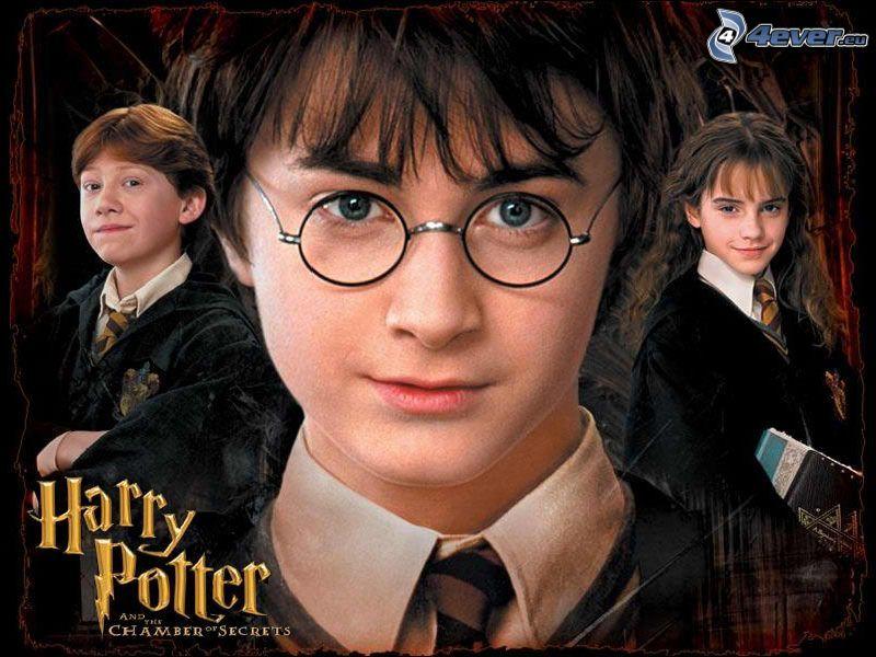 Harry Potter, Daniel Radcliffe, Ron Weasley, Hermione Granger