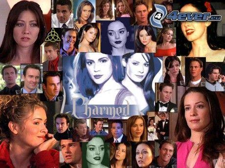 häxor, Charmed, skådespelerska, Piper, Phoebe, Paige Matthews, Prue, människor
