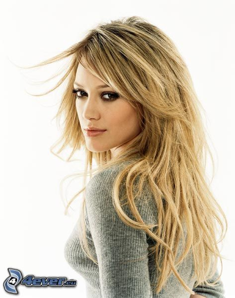 Hilary Duff, blondin