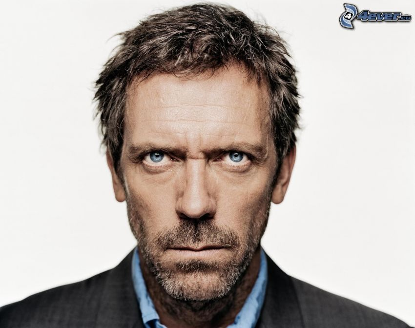Hugh Laurie, blick