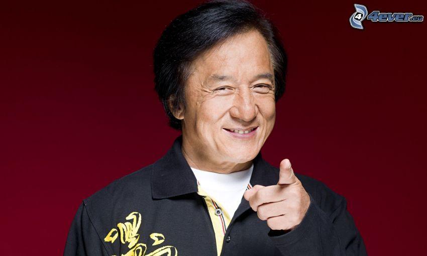 Jackie Chan, leende