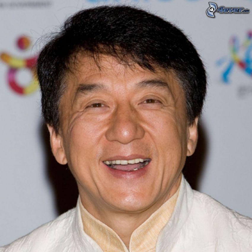 Jackie Chan, skratt