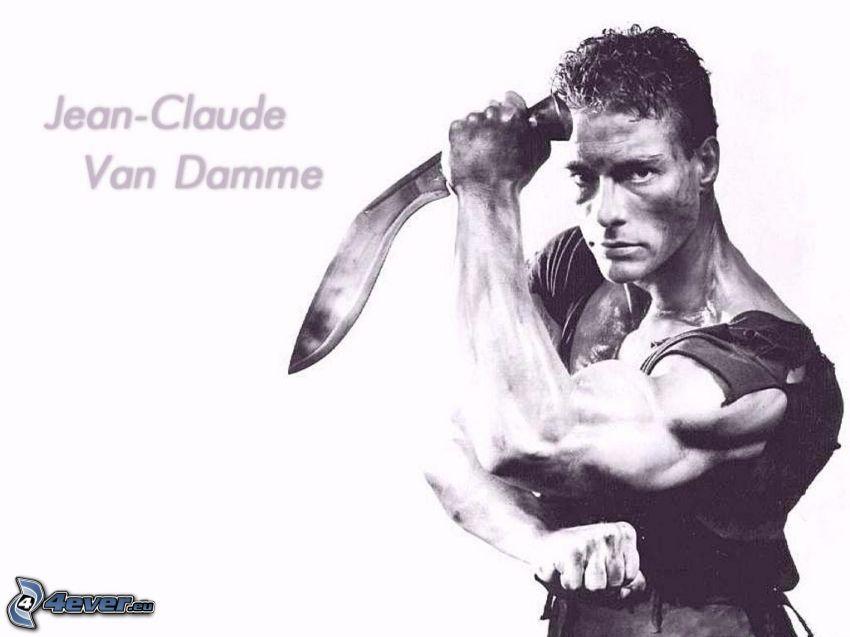 Jean-Claude Van Damme, muskler, kampsport