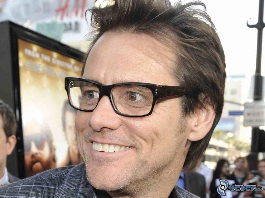 Jim Carrey, glasögon