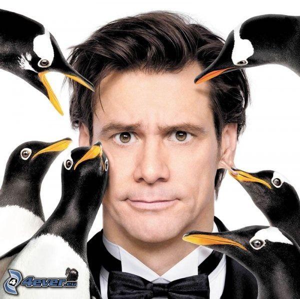 Jim Carrey, pingviner