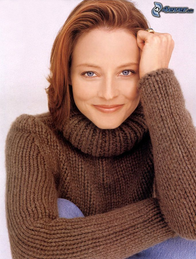 Jodie Foster, rödhårig