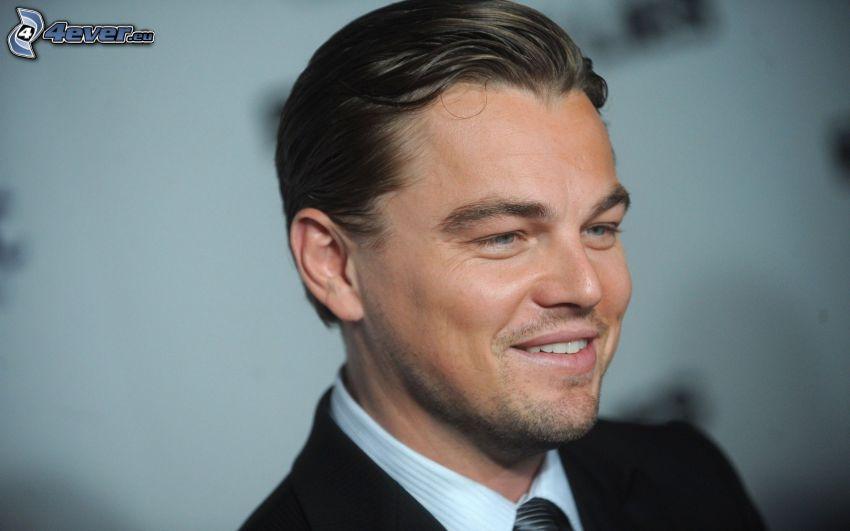 Leonardo DiCaprio, leende, skådespelare