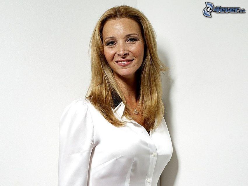 Lisa Kudrow, vit skjorta