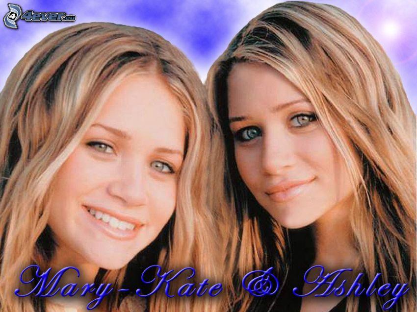 Mary-Kate och Ashley Olsen