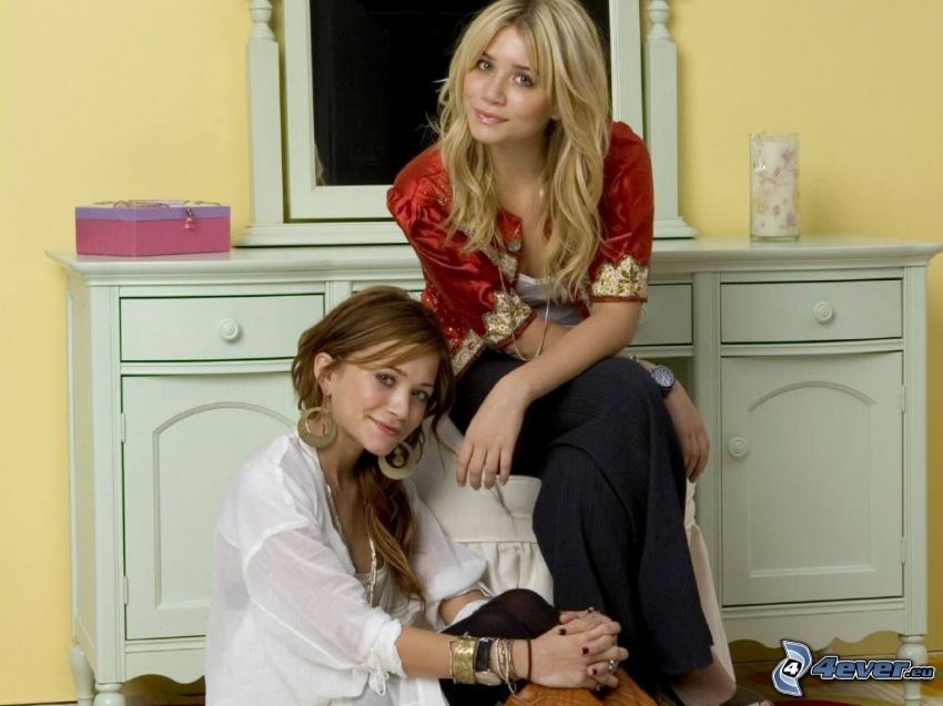 Mary-Kate och Ashley Olsen