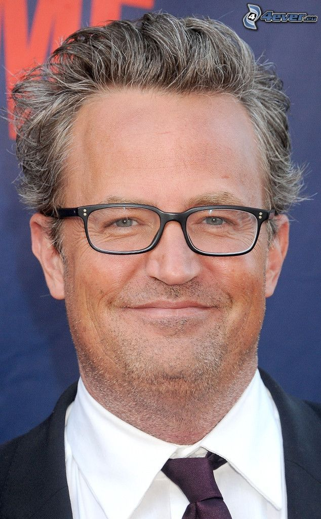 Matthew Perry, man med glasögon
