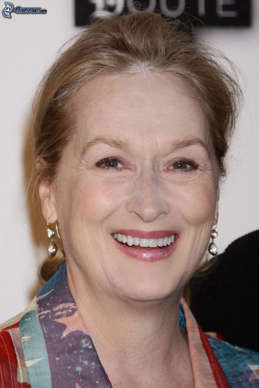 Meryl Streep, leende