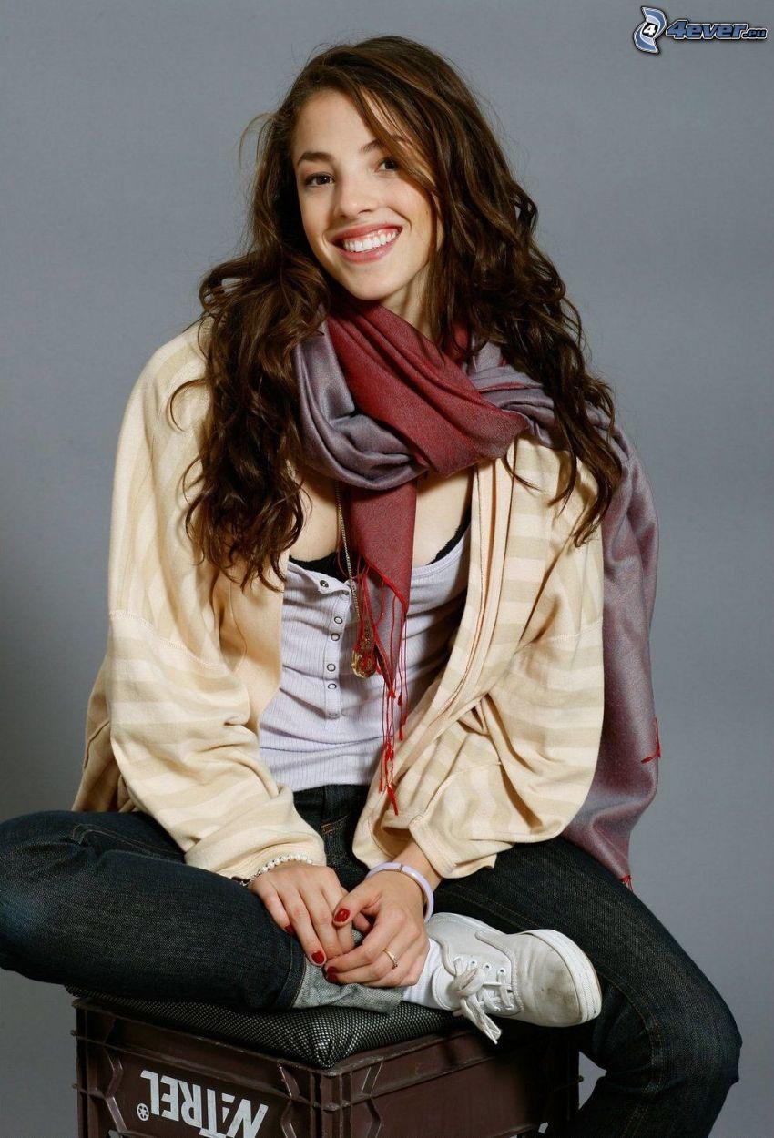 Olivia Thirlby, leende