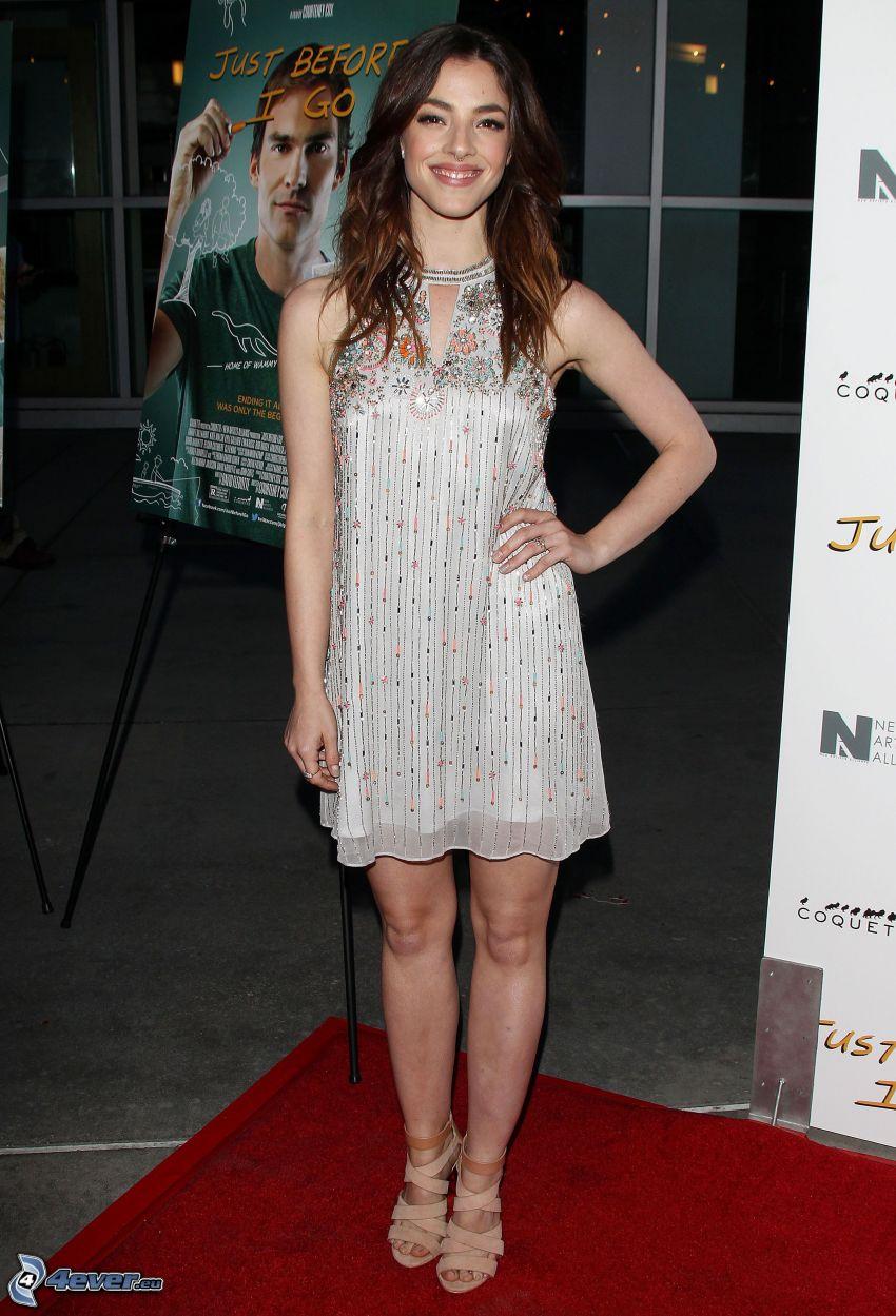 Olivia Thirlby, vit klänning