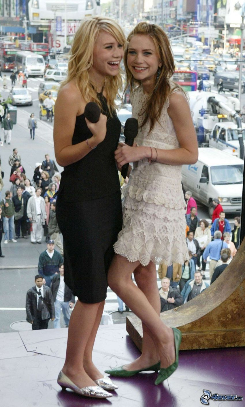 Olsen, tvillingar, systrar, skådespelerskor