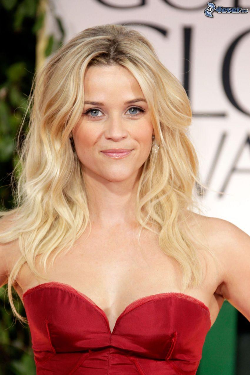 Reese Witherspoon, röd klänning