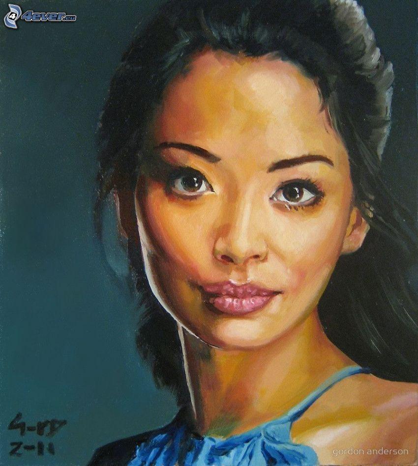 Stephanie Jacobsen, tecknat