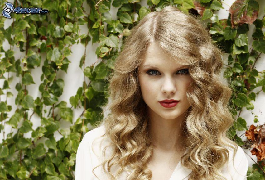 Taylor Swift, lockig blondin