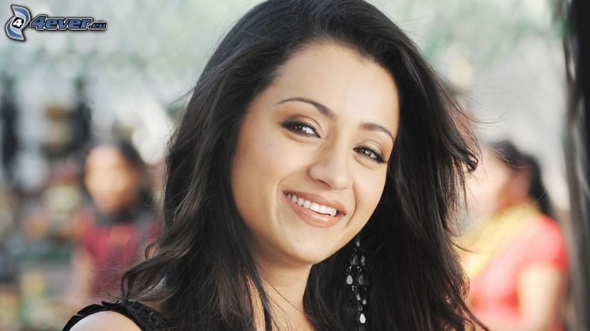 Trisha Krishnan, leende