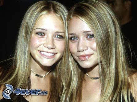 tvillingar, Olsen, skådespelerskor