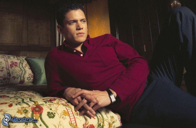 Wentworth Miller, soffa