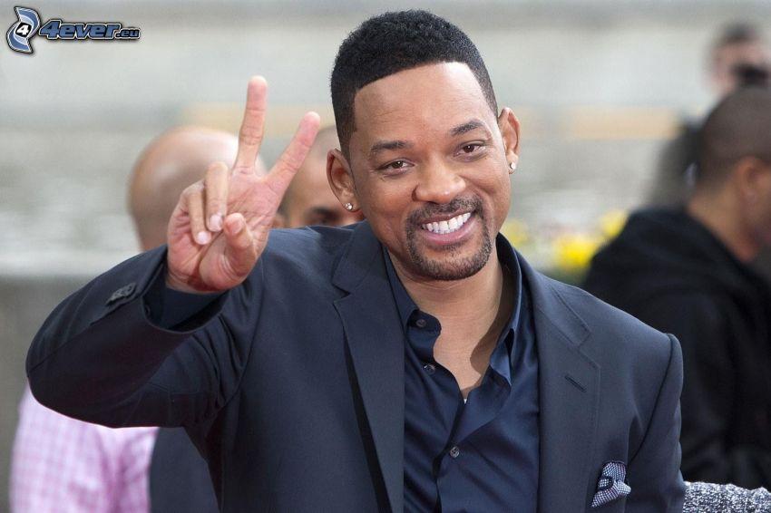 Will Smith, fred, man i kostym