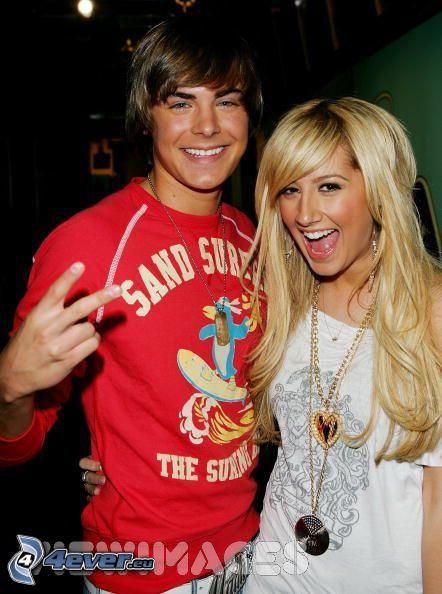 Zac Efron och Ashley Tisdale