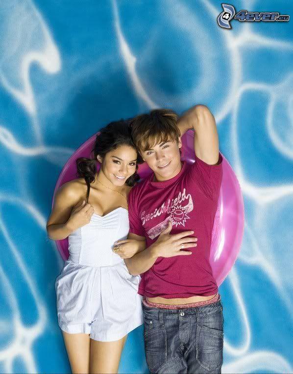 Zac Efron och Vanessa Hudgens