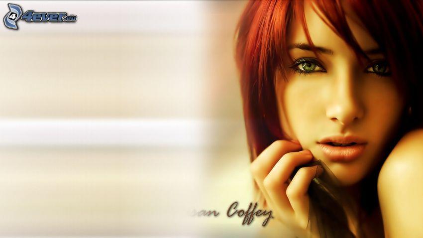 Susan Coffey, rödhårig