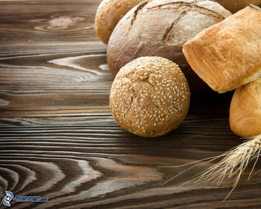 bakat, bröd