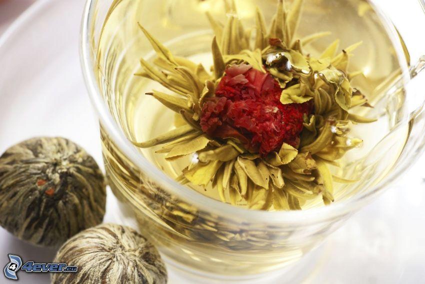 blommande te
