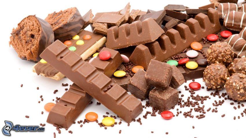 choklad, Smarties