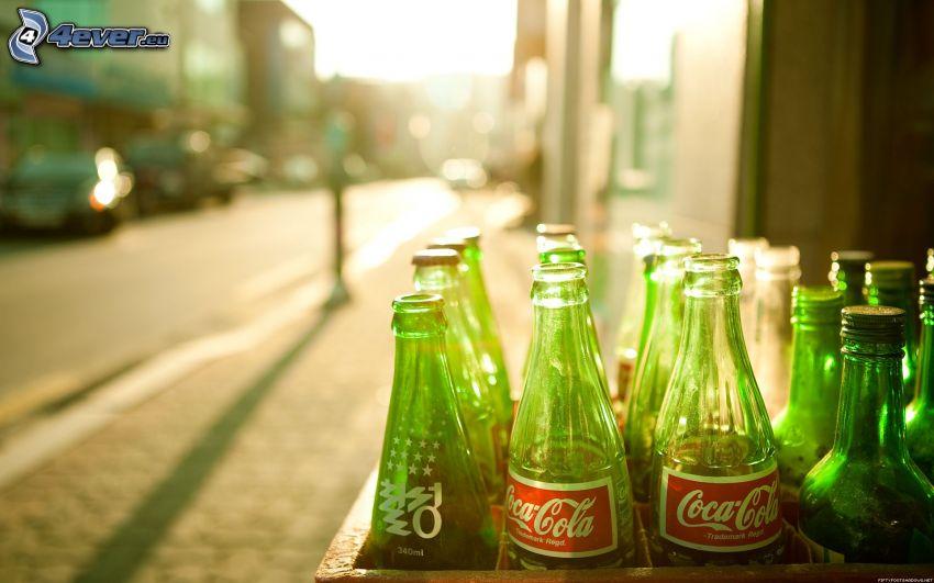 Coca Cola, flaskor