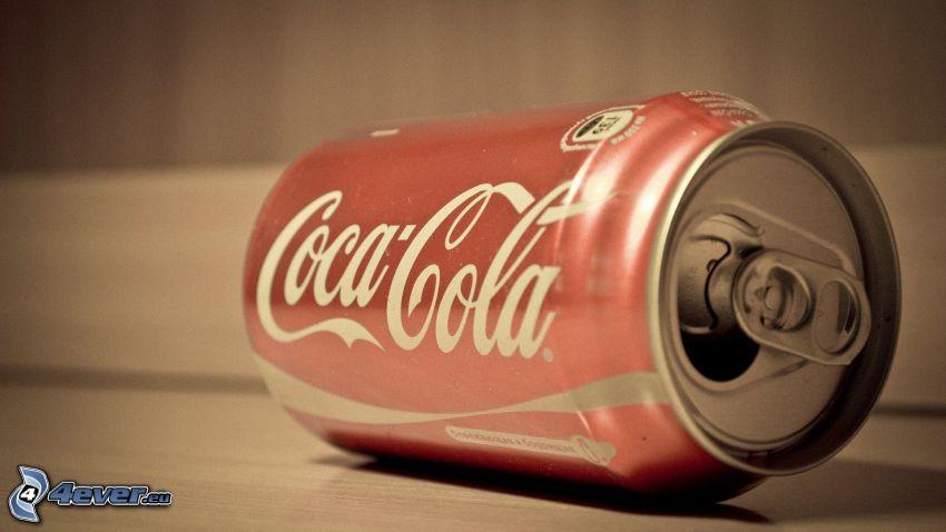 Coca Cola, plåtburk
