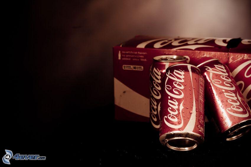 Coca Cola, plåtburkar
