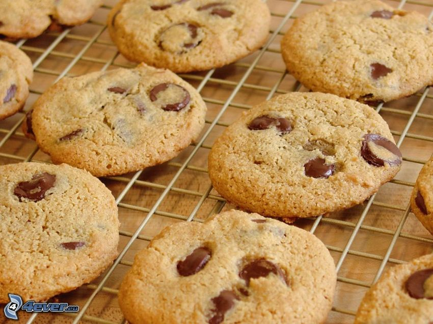 cookies, choklad