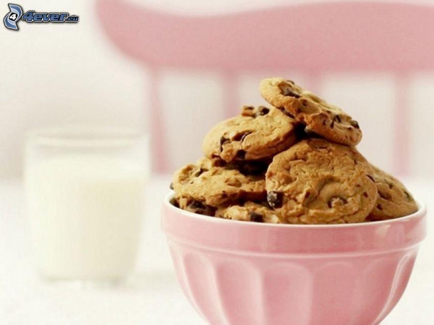 cookies, skål