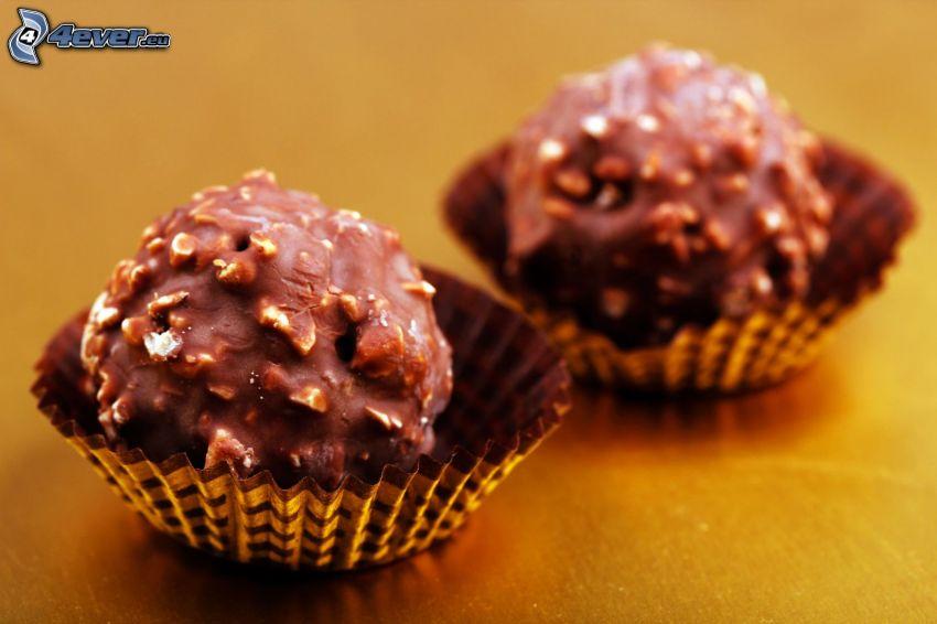 Ferrero Rocher, choklad, godis