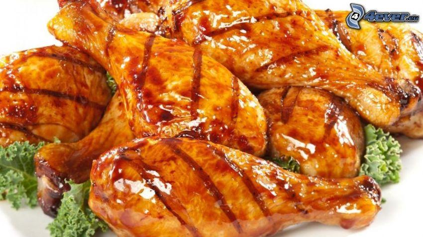 grillad kyckling