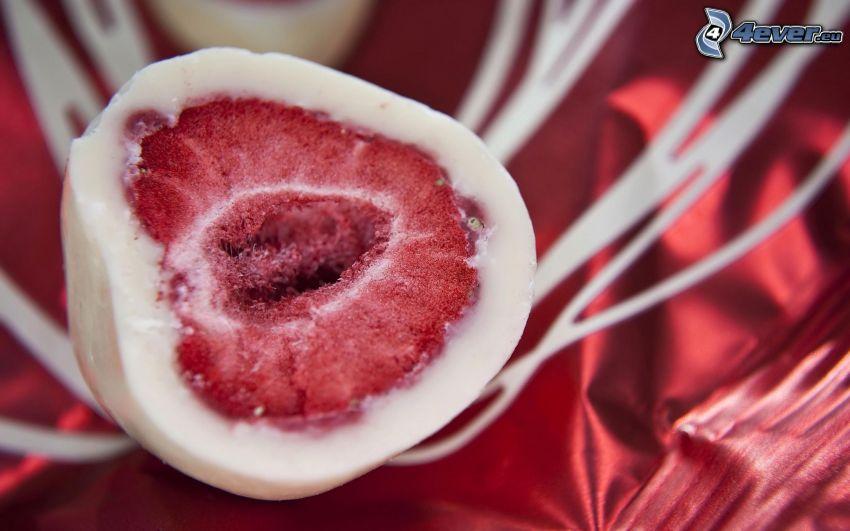 jordgubbar i choklad