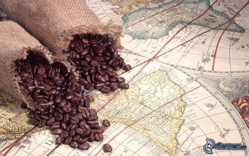 kaffe, atlas