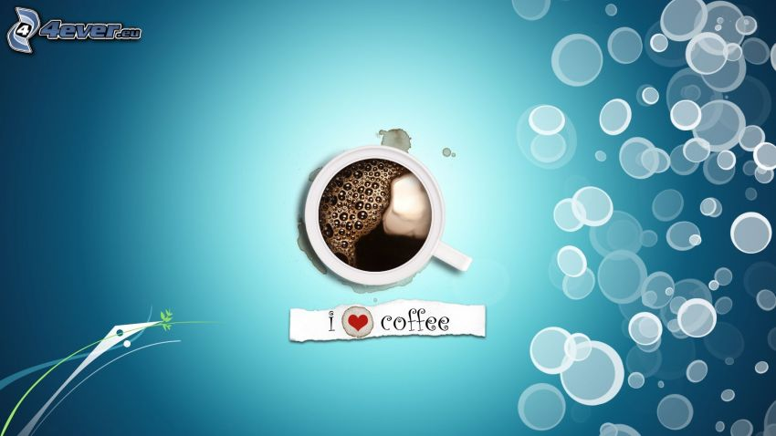 kaffe, bubblor