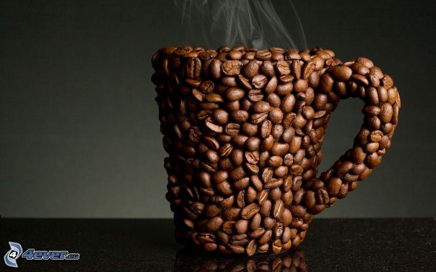 kaffe, mugg