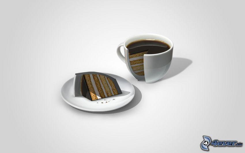 kaka, kaffe