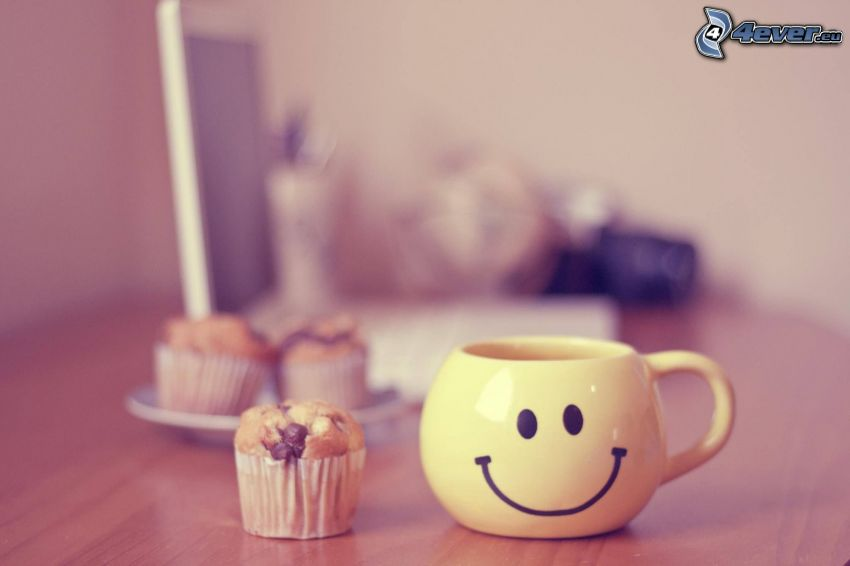 kopp, muffins