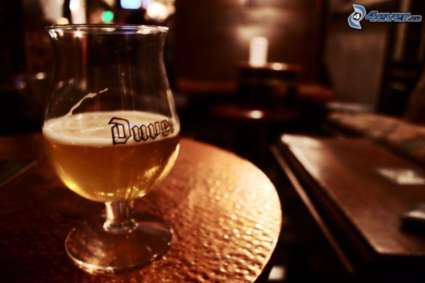 öl, glas