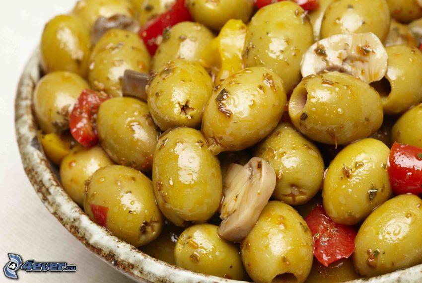 oliver, svampar