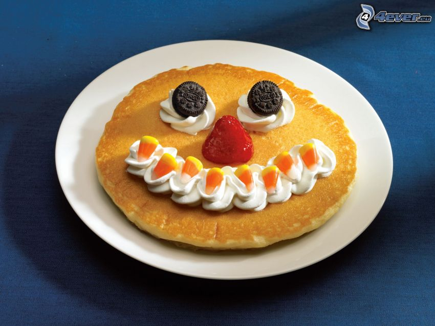 pannkakor, smiley